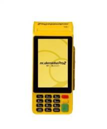 Maquina de cartão de chip PagSeguro moderninha pro 2