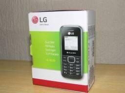 Celular LG Dual Sim antena rural radio fm bateria longa duração novo na caixa