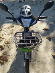 Bike impecável 100% elétrica. Muito nova.