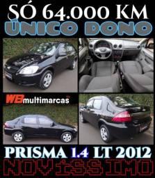 Prisma 2012 Único Dono 64mil Km