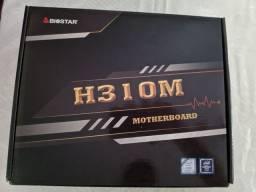 H310M biostar para 9° e 8° geração intel