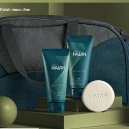 Natura Kaiak masculino com bolsa esportiva com tecido sustentável