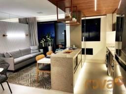 Apartamento à venda com 2 dormitórios em Setor bueno, Goiânia cod:NOV236000