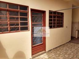 Casa com 1 dormitório para alugar, 60 m² por R$ 800,00/mês - Jardim Anhangüera - Ribeirão