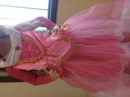 2 Vestidos da princesa Aurora ( bela adormecida)