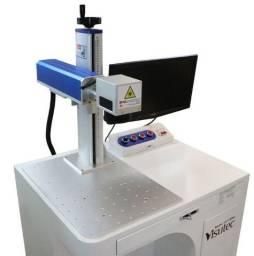 Máquina Gravação a Laser Metais Fiber Emf 20W Visutec