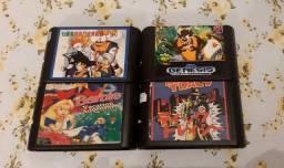 Cartuchos (Fitas) de Mega Drive