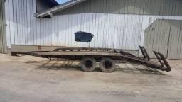 Carreta para transporte de colheitadeira