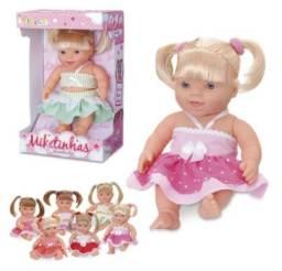 Bonecas Miketinhas Encantadas - Miketa
