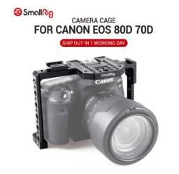 Gaiola smallrig para canon eos 80d/70d