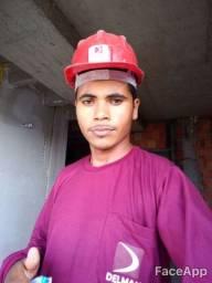 Faço serviços de pedreiro