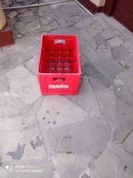 Caixa para 24 garrafas troco por caixa plástica