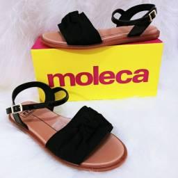 Sandálias moleca barato