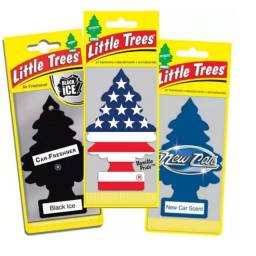 Aromatizante para carro-Little Trees Originais/ 5 por 39,99