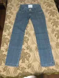 Calça jeans Lança Perfume 38 em estado de nova