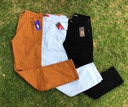 Calças jeans cores