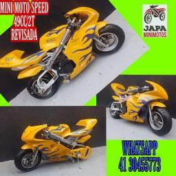 Mini Moto Speed Em 10 VEZES SEM JUROS