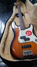 Baixo Precision Jazz Squier by Fender 4c EDIÇÃO LIMITADA