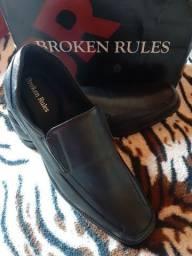 Sapato masc. Broken Rules novo na caixa