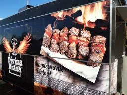 Food trailer para espetinho
