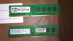 Memória Kingston 4GB + Memória Apacer 2GB