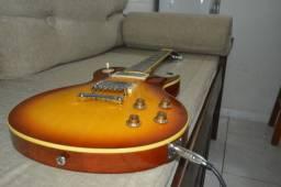 Guitarra SX LP Séries EH3 + Case Tagima Eagle Thomaz