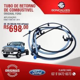 Tubo de retorno de combustível original ford