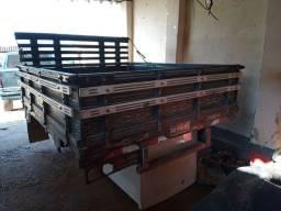 Carroceria de madeira para S10 ranger 2.14x1.7