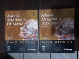 Atlas de anatomia humana volume 1 e volume 2 Netter