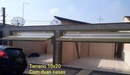 Terreno 10x20 Com 2 casas p/Aluguel