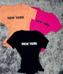 Camiseta T shirt feminina