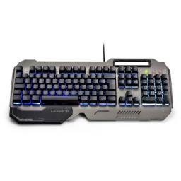 Teclado Gamer Oficial Warrior Led Tc222 Teclas Anti-ghosting