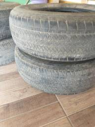 Pneus Bridgestone novo sem reforma 265 65 r17