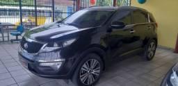 Kia sportage ex2 2.0 2014/2014 completo loja casarão veículos