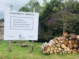Terreno em condomínio fechado com licenciamento ambiental ok