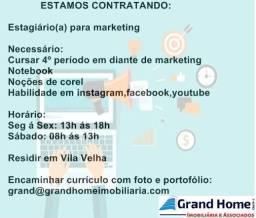 Vaga Marketing- Noções de redes sociais e campanhas