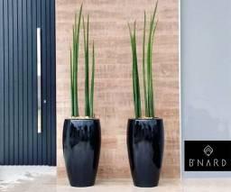 Vasos esmaltados (tipo vietnamitas) para decoração de ambientes internos e externos