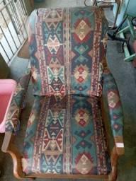 Cadeira do papai de madeira