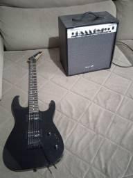 Guitarra Jackson + amplifcador