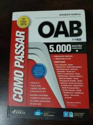 Livro como passar na OAB Editora Foco 15ª Edição