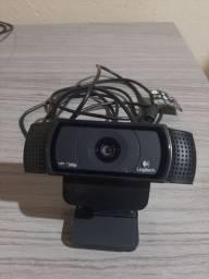 Web Cam Logitech e Leitor Biométrico