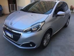 Peugeot 1.6 allure automático 2018 c/ 20  mkm