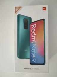 Loucura total! REDMI Note 9 da Xiaomi! Novo lacrado Garantia e entrega hj
