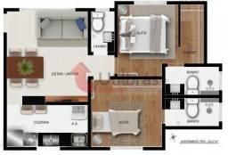 Apartamento à venda, 2 quartos, 2 suítes, 2 vagas, Santa Efigênia - Belo Horizonte/MG