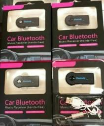 Adaptador receptor Bluetooth entrada auxiliar