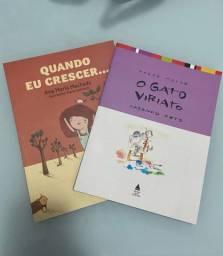 Livros - O gato Viriato / Quando eu crescer