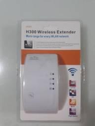 Repetidor e Amplificador de sinal Wifi sem fio 300 Novo Lacrado