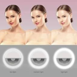 Título do anúncio: Ring Light Selfie Iluminador Makeup Celular Tablet Universal - Loja Natan Abreu Serra