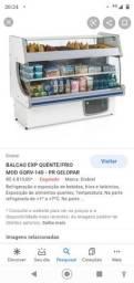 Freezer expositor quente/frio gelopar 127v