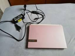 Netbook Packard Bell com fonte e Windows 10